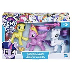 Set 3 figurine My Little Pony Equestria Friends II