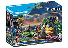 Jucarie Playmobil Set Ascunzatoarea Piratilor