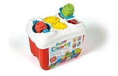 Jucarie cu activitati Clementoni, galeata cu 15 forme, Multicolor