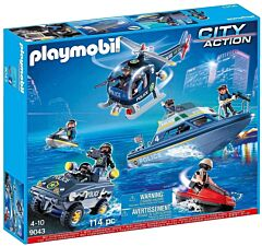 Jucarie Playmobil Set vehicule de politie
