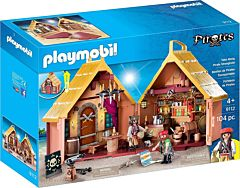 Jucarie Playmobil Set mobil Fortareata Piratilor