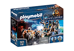 Jucarie Playmobil Set Echipa Lupilor Novelmore cu Tun
