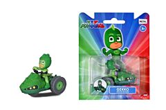 Figurina Gekko cu motocicleta Eroi in Pijamale Dickie, Verde