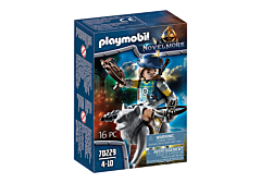 Jucarie Playmobil Set Cavaler Novelmore, Arbaleta si Lup