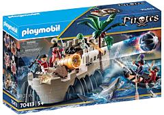 Jucarie Playmobil Set Bastion cu soldat britanic