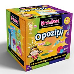 Joc educativ BrainBox - Opozitii