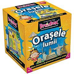 Joc educativ BrainBox - Orasele Lumii