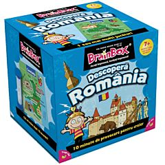 Joc educativ BrainBox - Descopera Romania