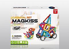 Puzzle magnetic, 36 piese, plastic, Multicolor