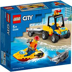 LEGO City ATV de salvare pe plaja 60286