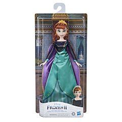 Papusa Regina Anna Frozen II, plastic, Multicolor
