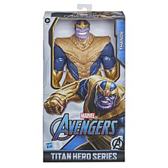 Figurina Avengers Titan Hero DLX: Thanos, plastic, Multicolor