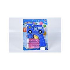 Pistol pentru baloane de sapun cu 2 tuburi de solutie Piccolino, Multicolor