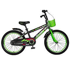 "Bicicleta pentru copii 20"" R20WTB Rich Baby, Negru/Verde"