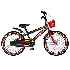 """Bicicleta pentru copii 20"""" R20WTB Rich Baby, Negru/Rosu"""