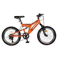 Bicicleta pentru copii R2049A Full Suspension Rich Baby, Multicolor