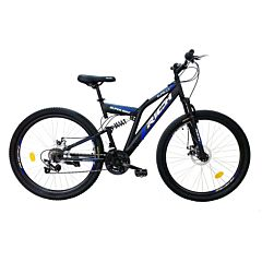 "Bicicleta de munte 27.5"" R2750D Full Suspension Disc Rich, Multicolor"