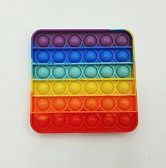 Jucarie antistres Pop It, forma patrata, Multicolor