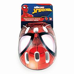 Casca de protectie Spiderman As Wheels, policarbonat/poliuretan, Multicolor