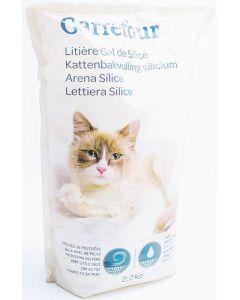 Silicat pentru pisici, Carrefour