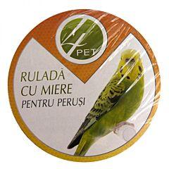 Rulada cu miere pentru perusi 65 gr, 4Pet