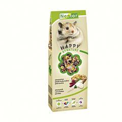 Hrana pentru hamsteri Nestor, seminte de amarant si fulgi de porumb, 370 g