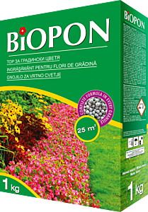 Ingrasamant pentru flori de gradina 1kg, Biopon