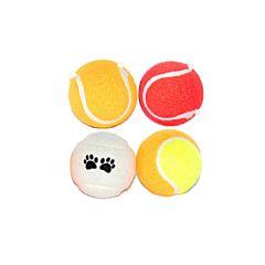 Set 4 mingii de tenis pentru caini 4Dog