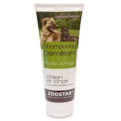 Sampon pentru caini si pisici cu blana lunga 200 ml, Zoostar