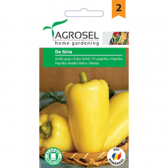Seminte Ardei gras de Siria, Agrosel
