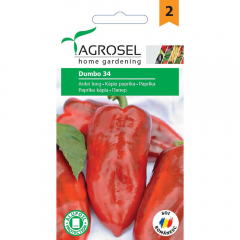 Seminte Ardei lung Dumbo 34, Agrosel