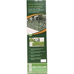 Gard ornamental extensibil, 1x2 m, Verde