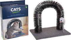 Jucarie pentru pisici cu arcuri, 34x25x34 cm