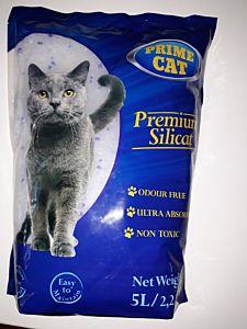 Silicat litiera pisici 5L/2.2 kg, Prime Cat