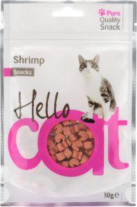 Recompense creveti 50 g, Hello Cat