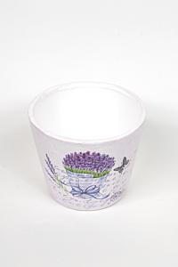 Ghiveci ceramica lavanda 11 cm