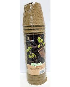 Ghivece biodegradabile 8 cm, set 20 bucati