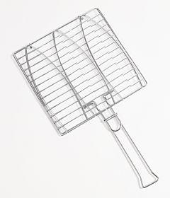 Grill dublu pentru peste 28x28 cm, Carrefour