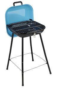 Gratar tip valiza 36x36 cm, albastru