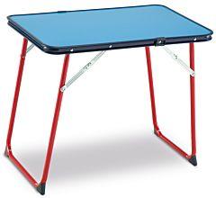 Masa camping 60x40 cm, albastru