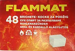 Cuburi pentru aprins focul, 48 bucati, Flamax Flammat