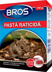 Pasta raticida 150 g, Bros