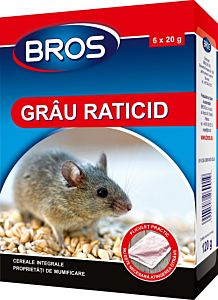 Grau raticid 120 g, Bros