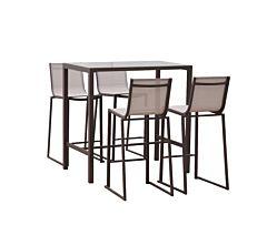 Set mobilier gradina tip bar, 5 piese