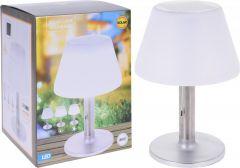 Lampa solara Pro Garden, Pentru masa, 28 x 12cm, Alba
