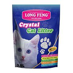 Asternut igienic si absorbant din silicat natural Crystal Cat, pentru litiera pisicii