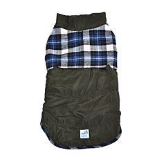 Jacheta pentru caini, 40 cm, Verde