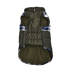 Jacheta pentru caini, 45 cm, Verde