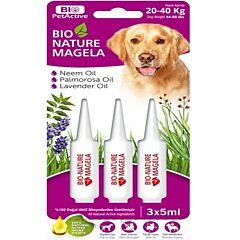 Solutie hidratanta pentru pielea cainilor Bio-Nature Magela Bio Petactive, 5 ml
