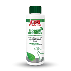 Solutie pentru igiena orala si dentara Biodent Hexidine Bio Petactive, pentru caini si pisici, 100 ml